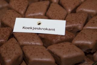 Koekjeskrokant bonbon bij IJZenSO